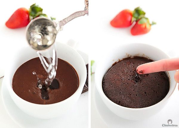 Molten Chocolate Mug Cake | Recipe | Chocolate mugs ...