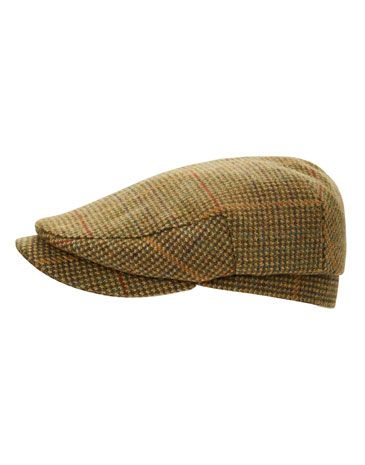 Joules Mens Tweed Flat Cap 2161648239c