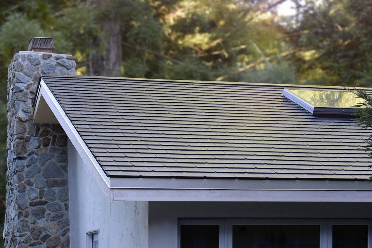 Here S What The First Tesla Solar Roofs Look Like In The Wild Tesla Solar Roof Solar Roof Solar Roof Tiles