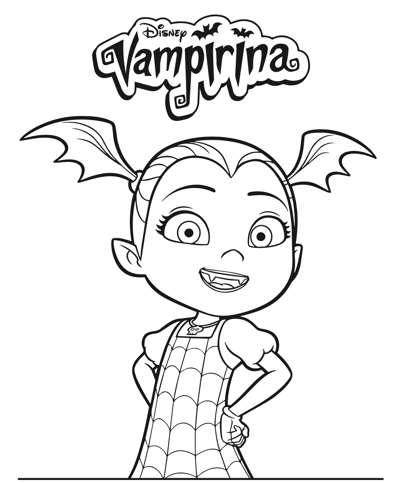 Disney Junior Vampirina Coloring Pages + DVD Giveaway | Disney jr ...