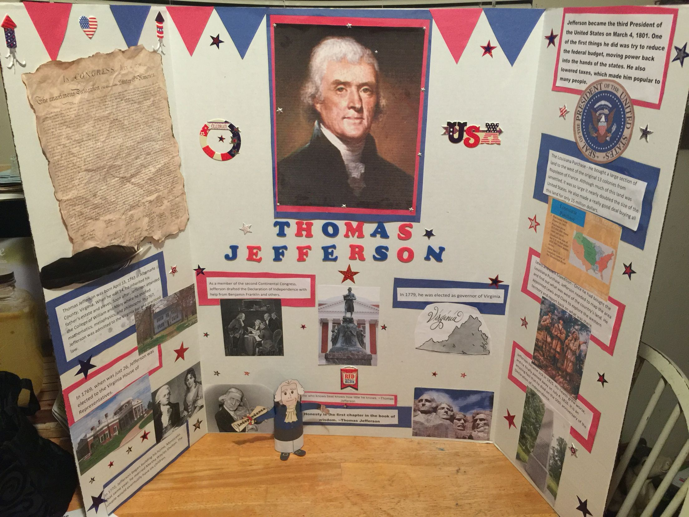 a biography of thomas jefferson an american president Thomas jefferson, a brief biography (born april 13, 1743, at shadwell, virginia died july 4, 1826, monticello)  of american independence  thomas jefferson and .
