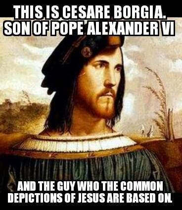 Bildergebnis für cesare borgia jesus portrait