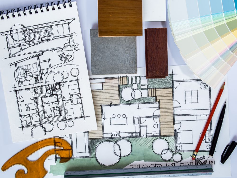 home renovation layout plan