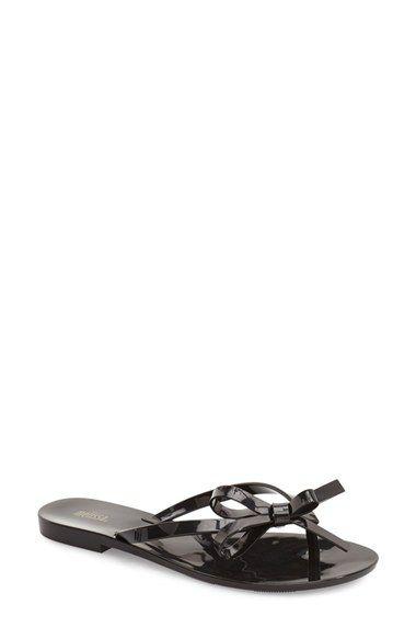 0775d1877f3 MELISSA  Harmonic Bow  Jelly Flip Flop (Women).  melissa  shoes  sandals
