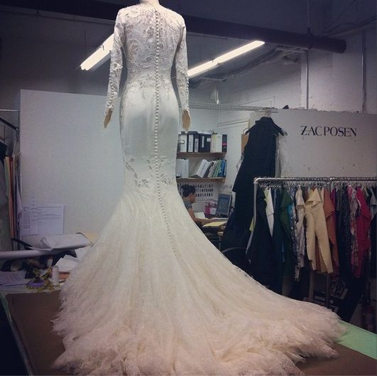 If I Had 10 000 Dollars For Zac Posen Bridal This Would Be My Dress 3
