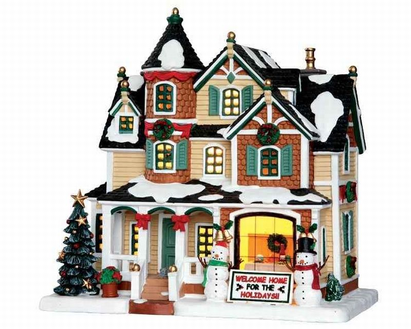 How To Store Christmas Village Houses.Lemax Holidays Homecoming Department 56 And Lemax Lemax