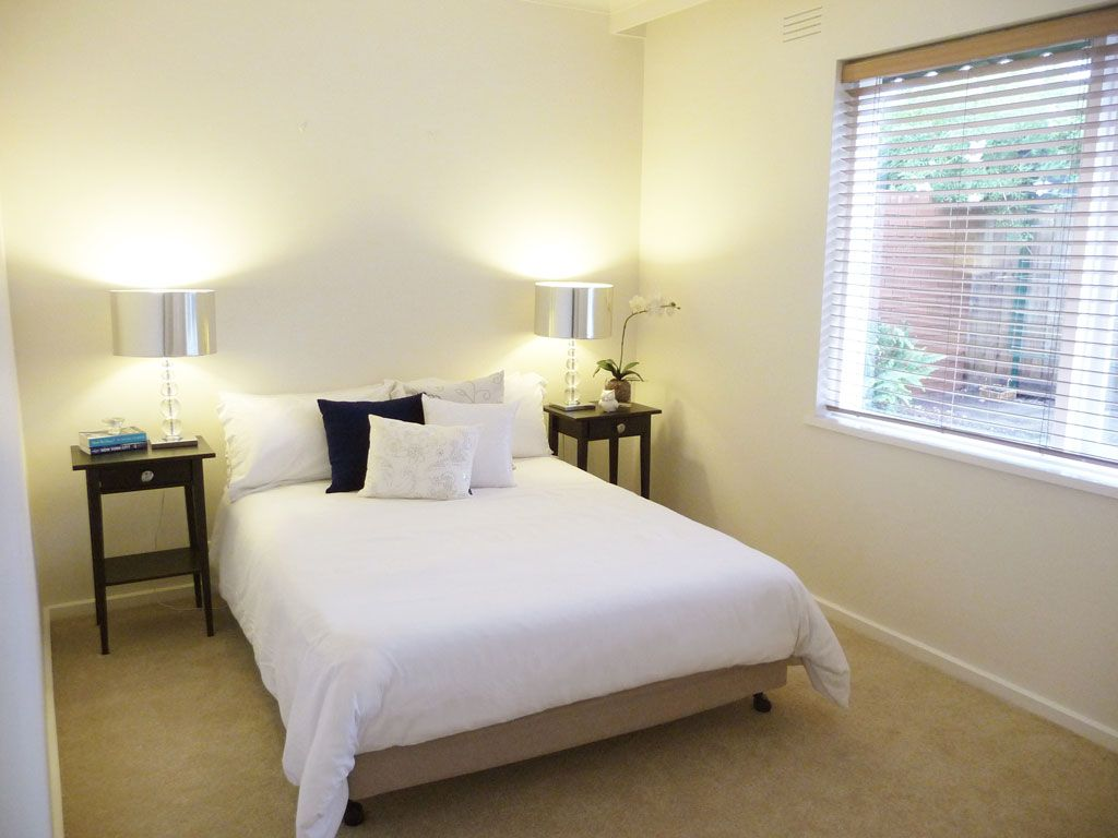 Parkdale Bedroom Before & After | Barn board headboard ...