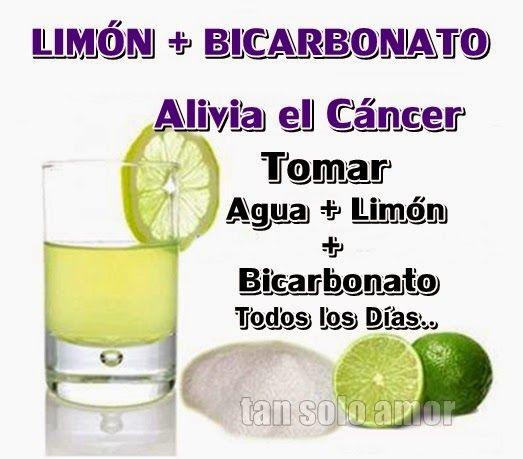 Bicarbonato con limon adelgazar