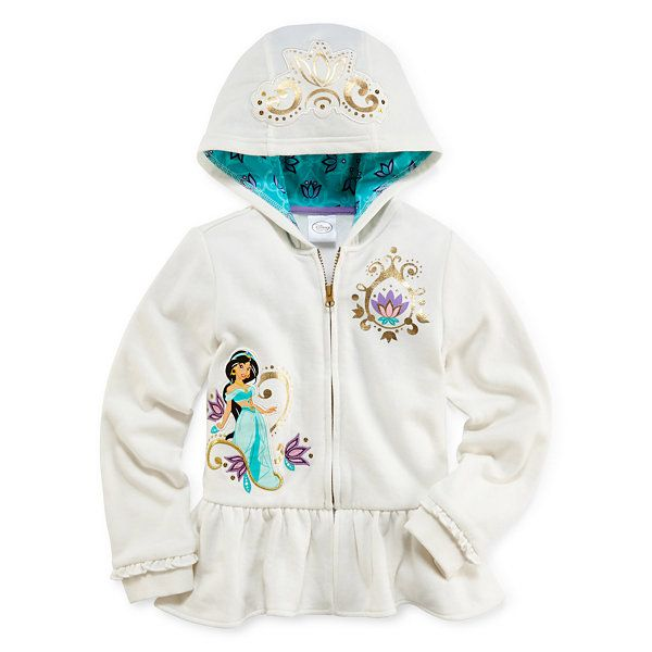 d9f5e4634af1 Disney Collection Jasmine Fleece Hoodie - Girls 2-10 - JCPenney ...