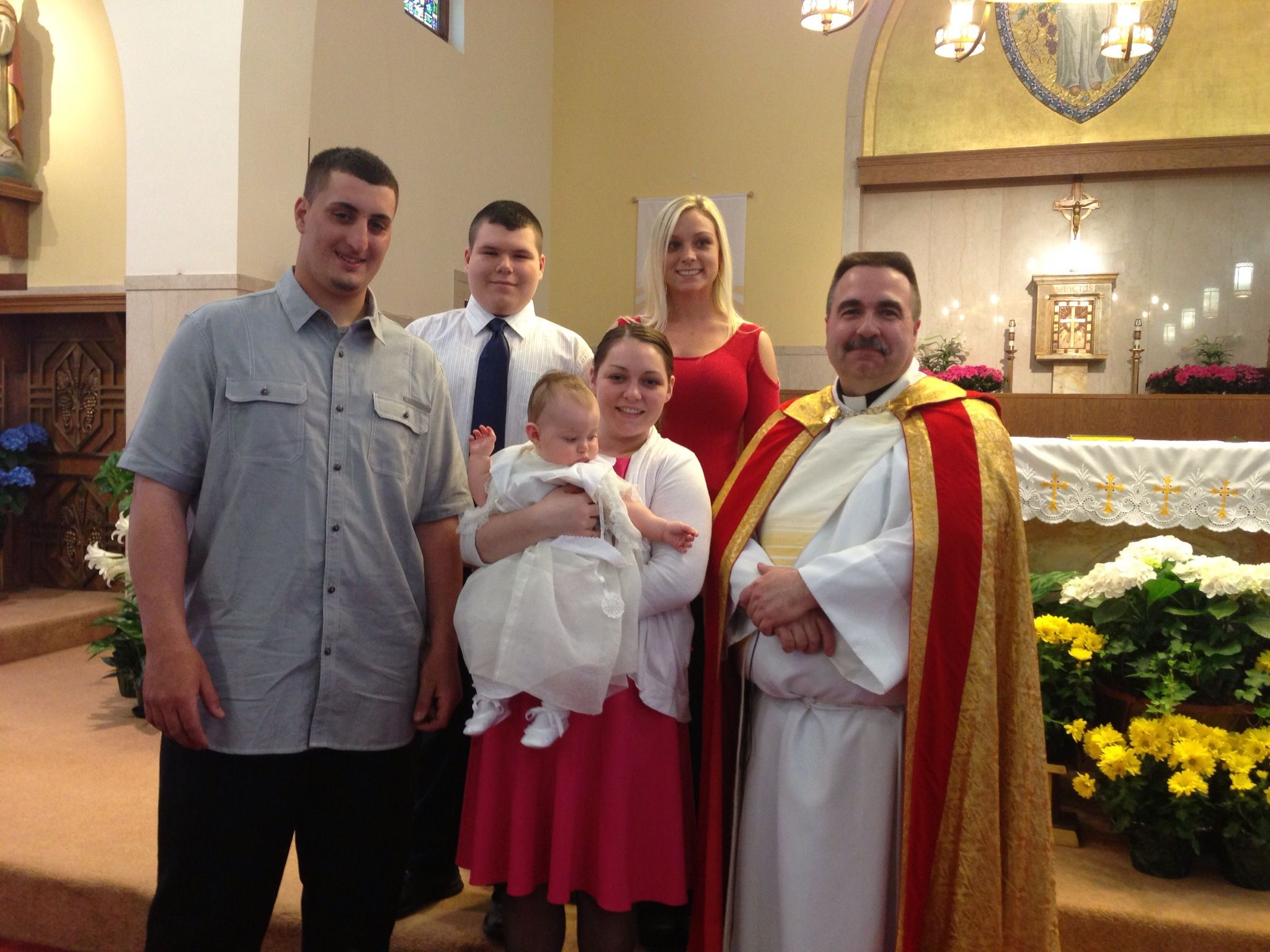kaliahna marie cirrone baptized st margaret church baptized st margaret church burlington ma parents richard and katie