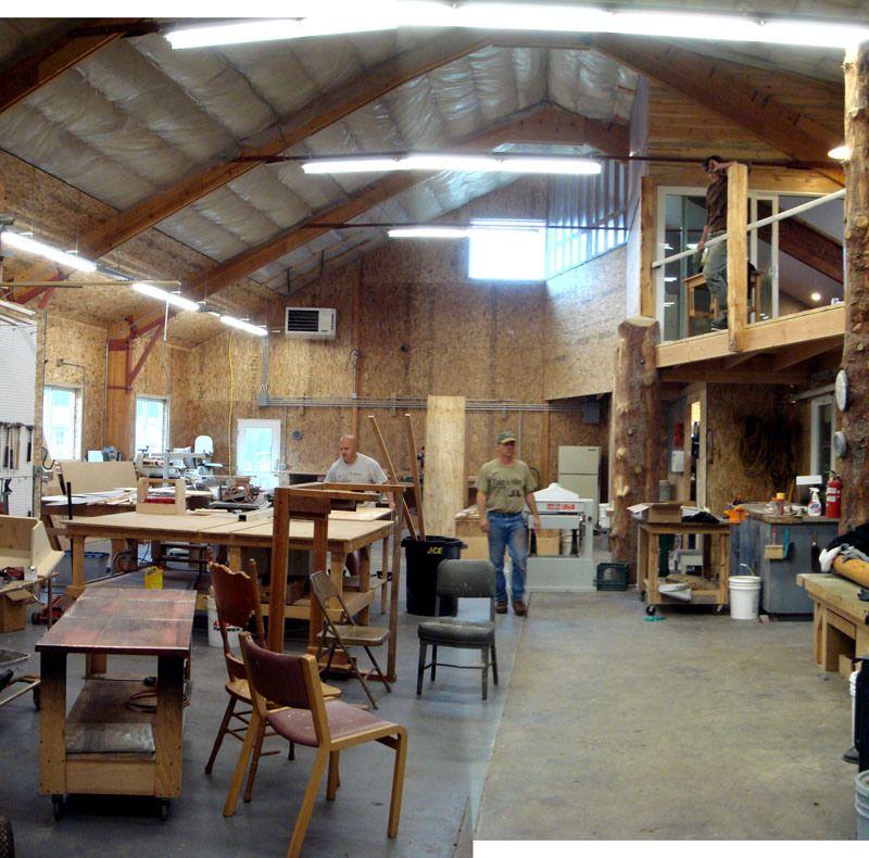 Barn Shop Designs: Woodworking Workshop, Shop