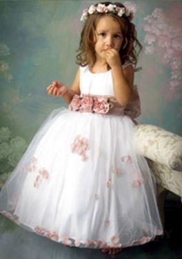 cheap little flower girl dresses | Trendy Dress | renewing vows ...