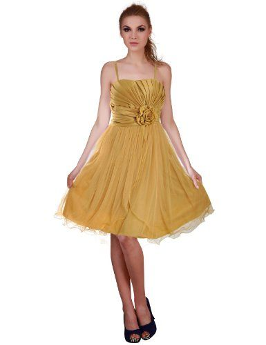 Donna Bella Split Tiered Prom Short Cocktail Bridesmaid Dress - Colour: Gold, Size: 10 Donna Bella http://www.amazon.co.uk/dp/B00F84M8BC/ref=cm_sw_r_pi_dp_c99mub0CXYX1B