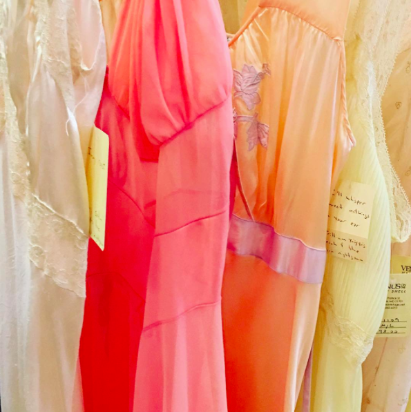Sherbet colored #vintage #nightgowns I want to live in #inspiration #eurotrashstyle
