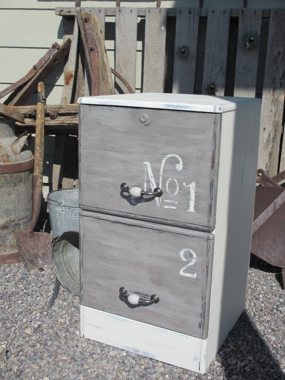Painting Furniture - A File Cabinet | furniture revamps ...