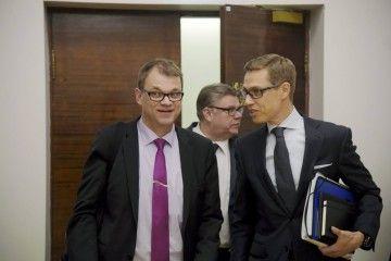 """Juha Sipilän """"kolmen ässän"""" hallituksen toimintaa on ollut todella hämmentävää seurata."""