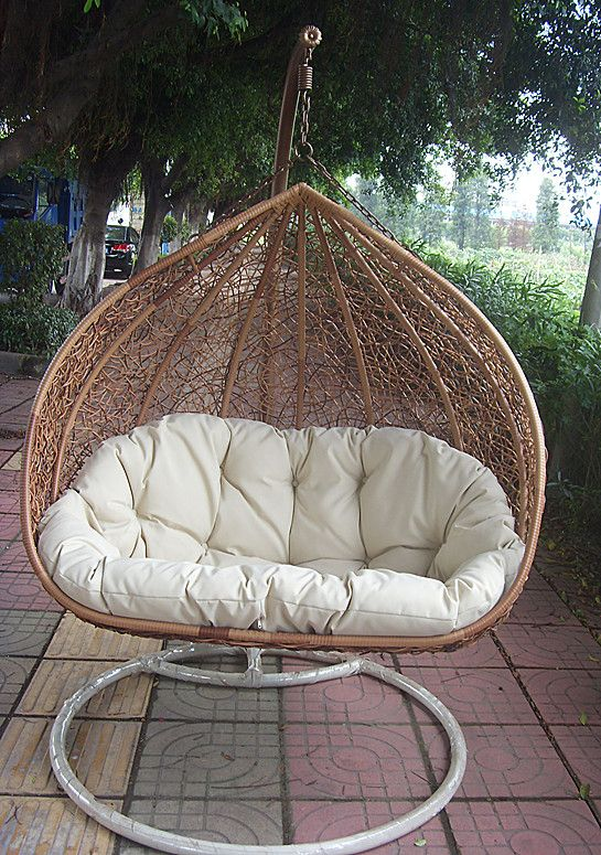 Hanging Pod Just Big Enough For Two Cozily Nest Chair Indoor Chairs Hanging Chair Indoor
