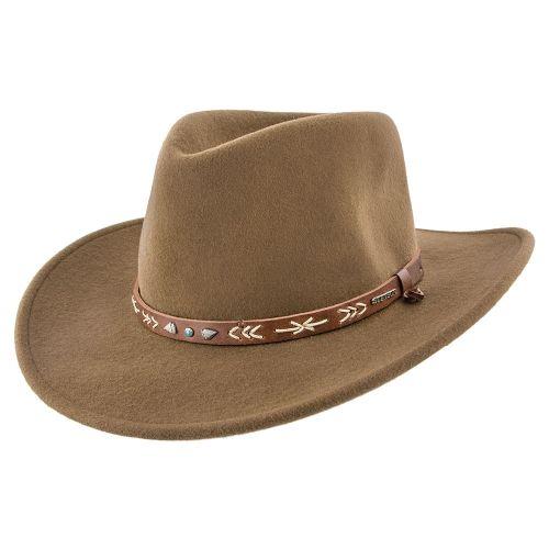 3740047ddb3378 Santa Fe - Stetson Wool Felt Crushable Western Hat - SWSTFE in 2019 ...