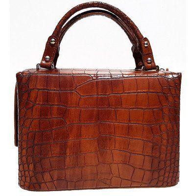 L'OFFICIEL SRL Snakeskin Leather Handbags