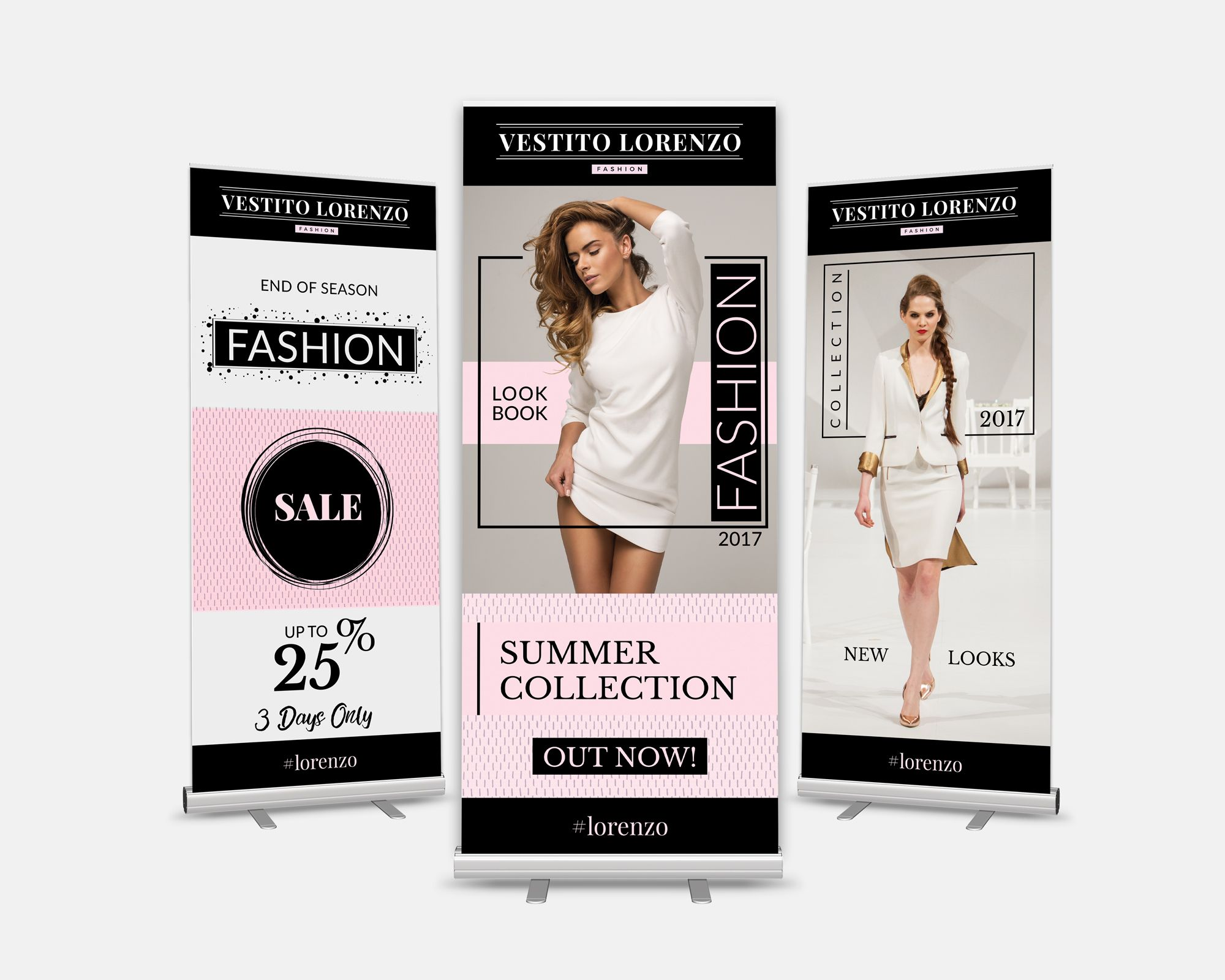 Modern And Minimal Style Fashion Banner Designs Apparel