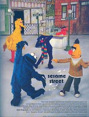 Sesame Street Ice Follies c 1976 - I went to this- I can
