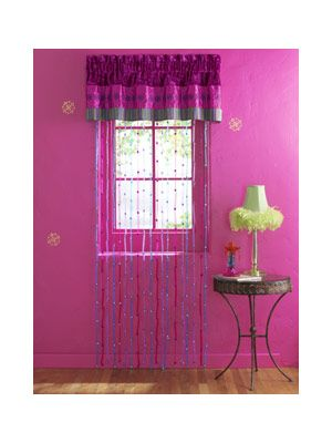 Bedroom Decorations | Bead curtains, Bedrooms and Teen bedroom ...
