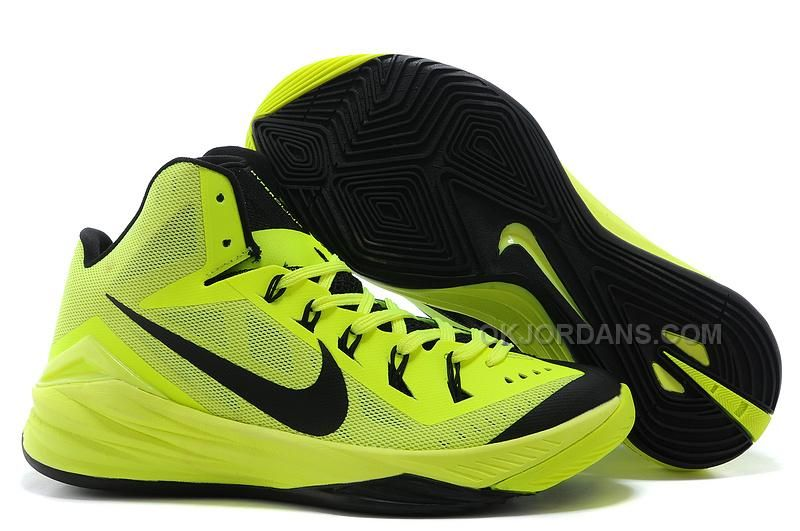 Authentic Nike Shoes For Sale Nike Lunar Hyperdunk 2014 XDR Fluorescent  Green [wms basket -