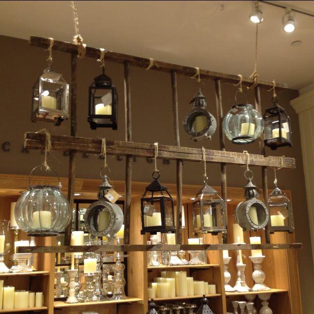 Pottery Barn Visual Merchandising!
