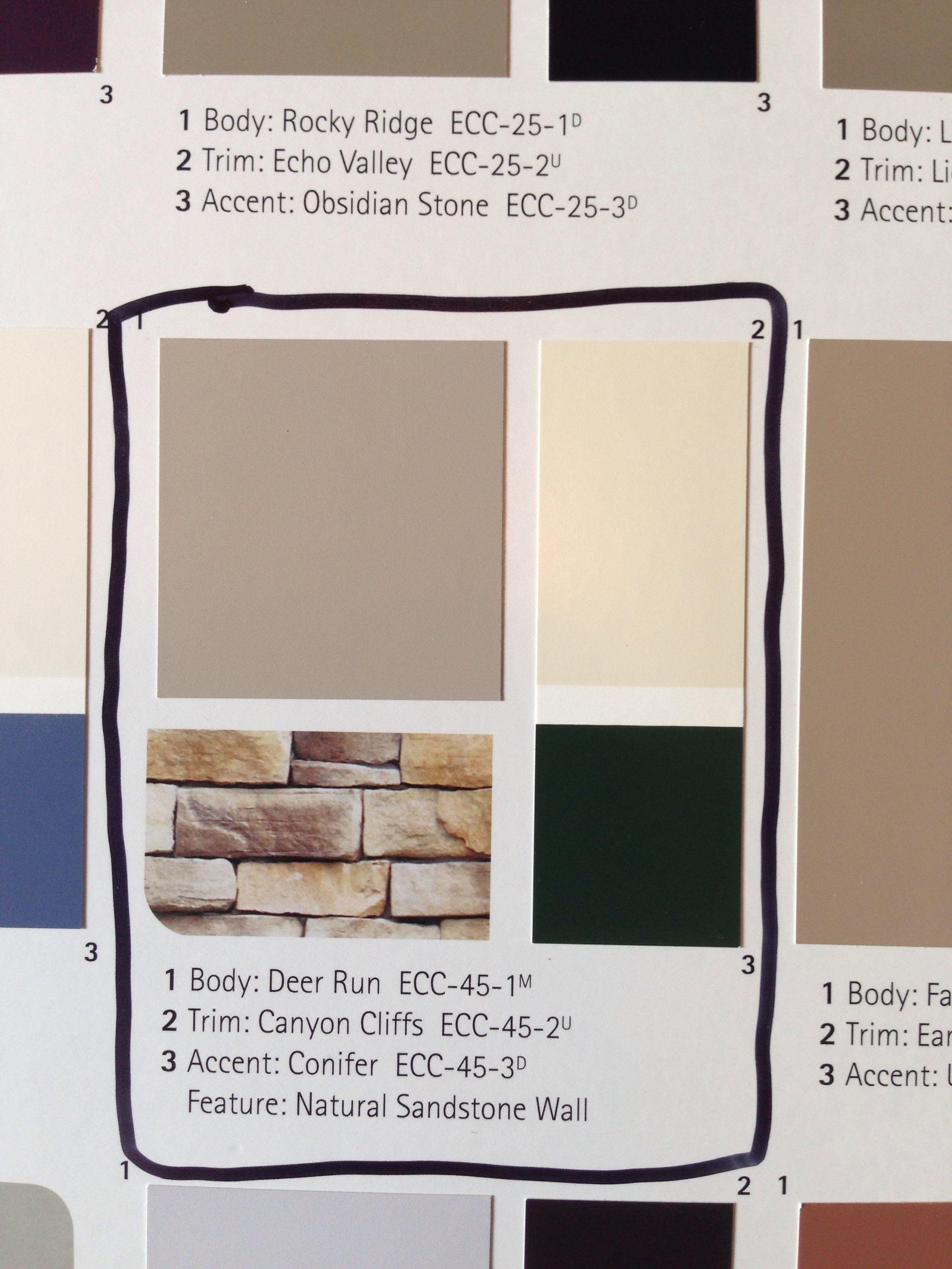Behr Paint Exterior House Paint Combo Exterior House Paint