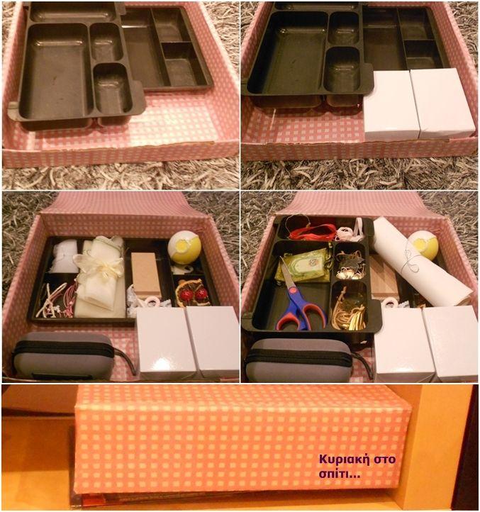 Sundays Projects... Making a pink craft box !! [Project 11]