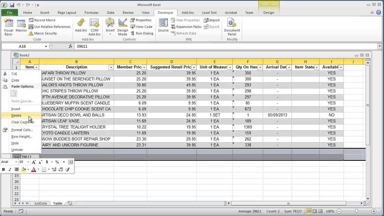 Vba Excel 2010 How To Add Or Insert Data To Last Row In A Table Excel Microsoft Excel Ads