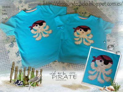 Conjunto bebé en blanco y lazos azules | Camisetas y Ideas