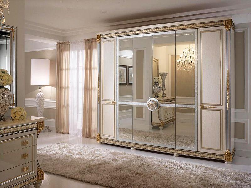 Luxury Bedroom Wardrobe Design With Elegant Interior Bedroom Wardrobe  Decorating With Mirror Accessories Ideas : Elegant