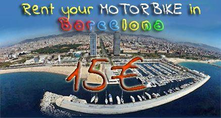 Rent bikes, scooters and quads in Barcelona - Mattia46