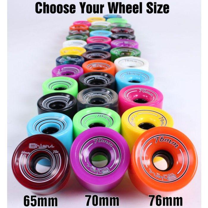 longboard wheels for cruising