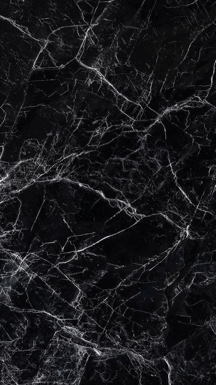 Schwarzer Marmor Iphone Tapete Hinter In 2020 Marble Iphone Wallpaper Black Wallpaper Iphone Marble Background Iphone