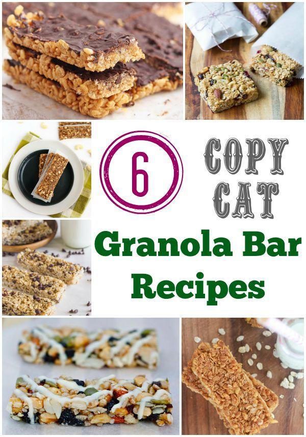 copycat granola bar recipes