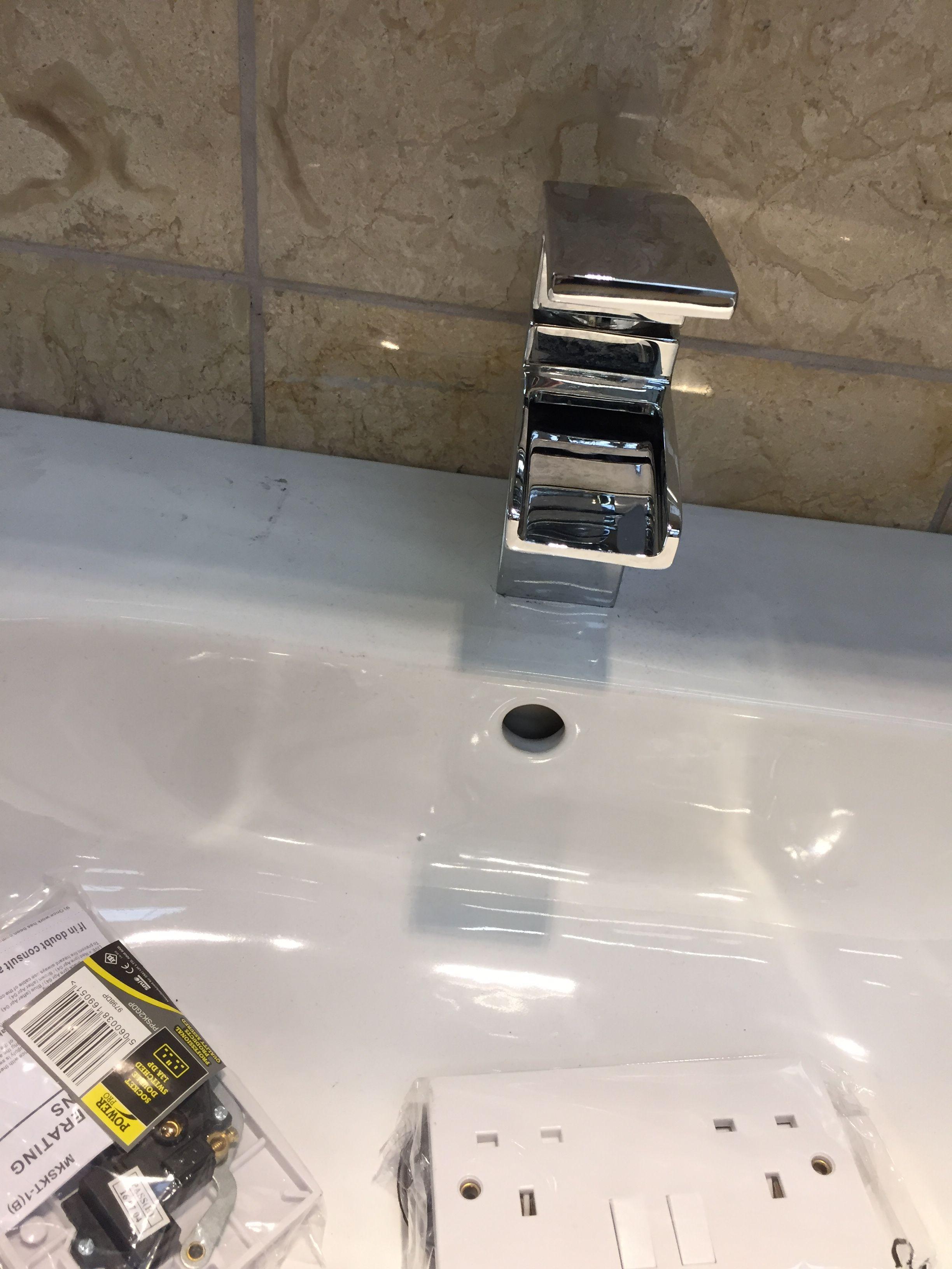 Waterfall tap B&Q | Waterfall taps, B&q, Sink