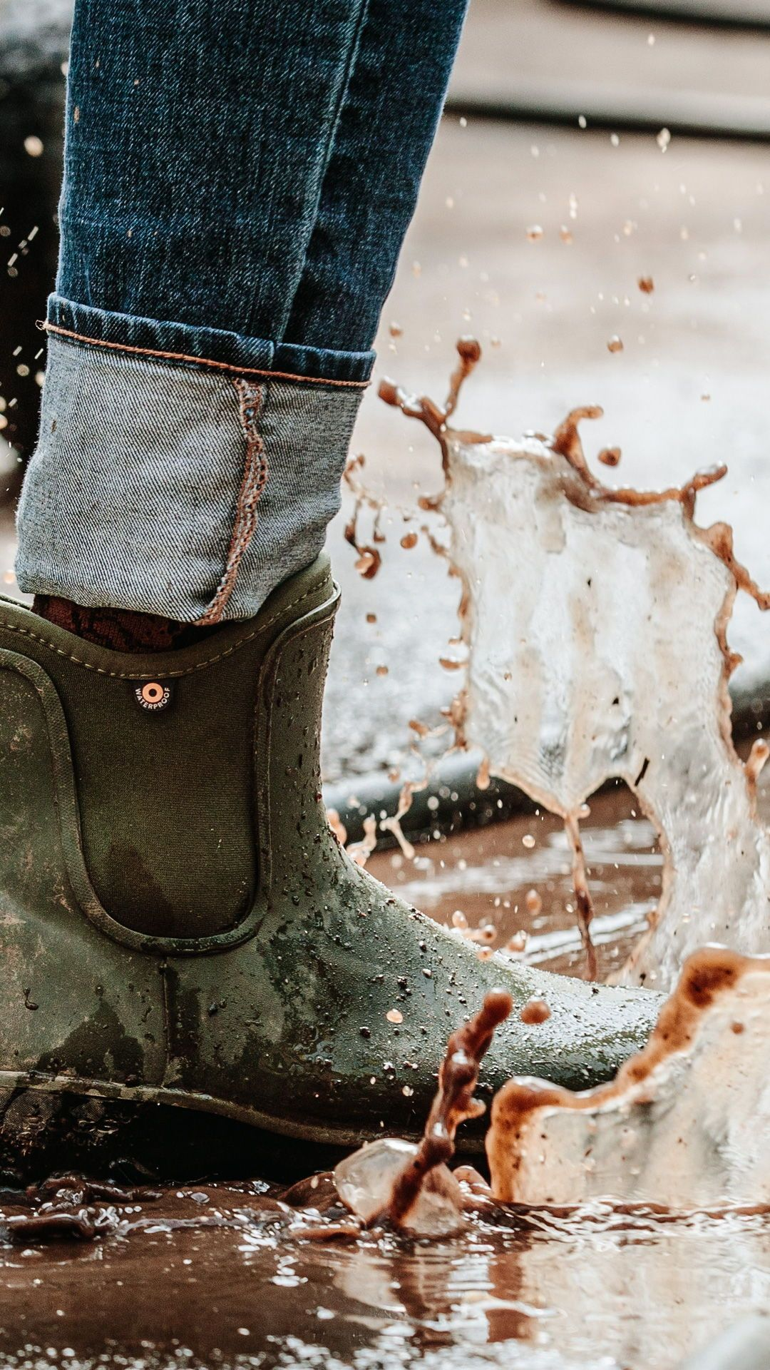 boots, Womens waterproof boots, Slip