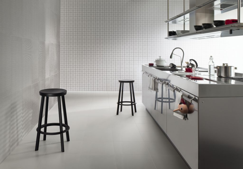 Audrey ceramic wall tiles by Lea Ceramiche