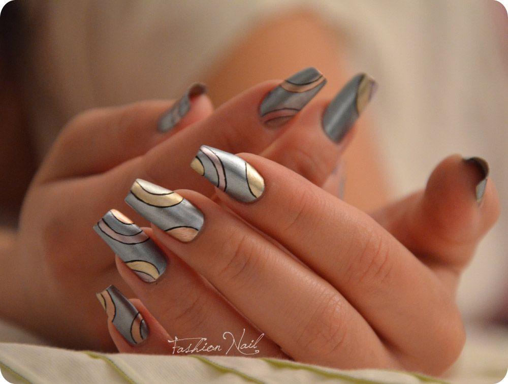 Nail Art by Fashion Nail | pretty paws | Pinterest