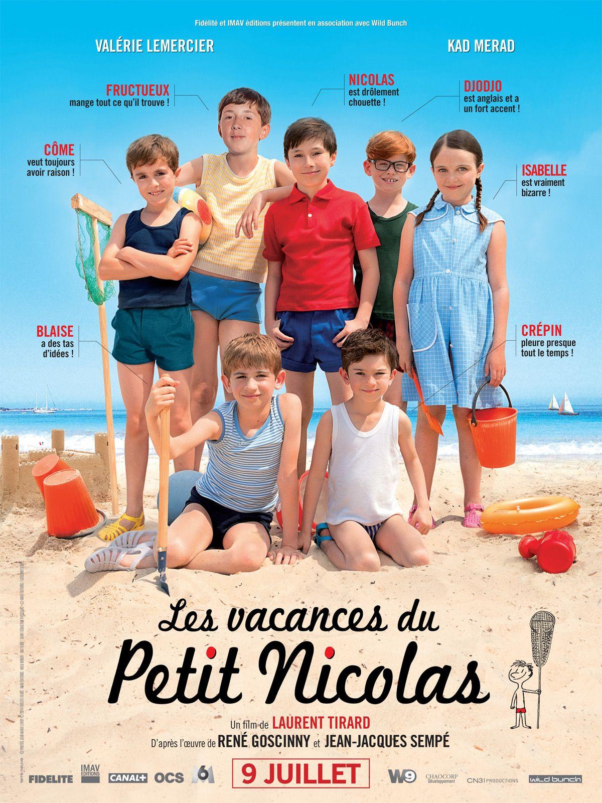 Le petit nicolas 2 films vacances pinterest note films and movie - Le petit nicolas film ...