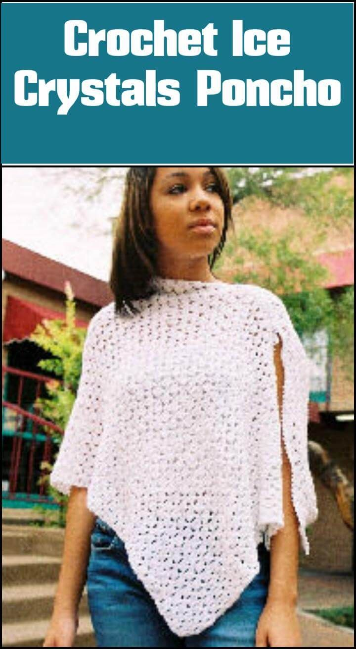 50 Free Crochet Poncho Patterns for All - Page 6 of 9 | Free crochet ...