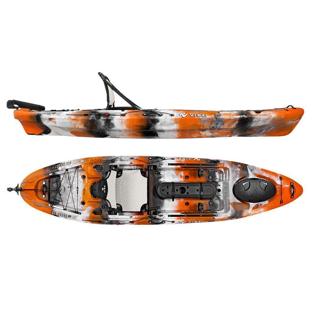 Vibe Sea Ghost 110 Kayak Angler Package Fishing boots