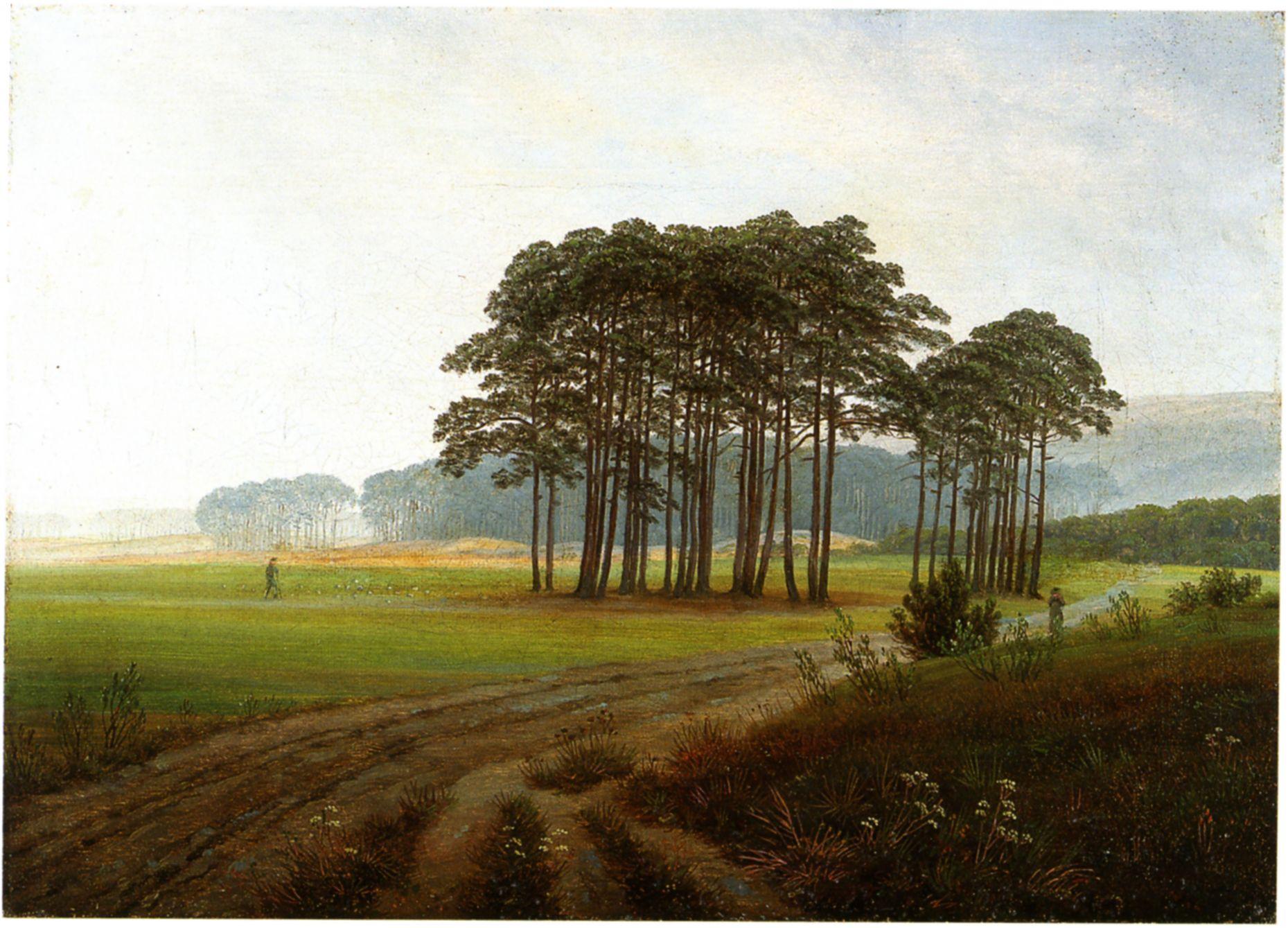 Der Baum der Krähen Caspar David Friedrich Kunstdruck Alte Meister