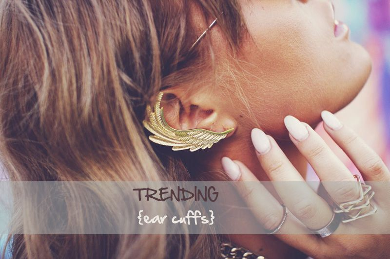 glam accessories || EAR CUFS