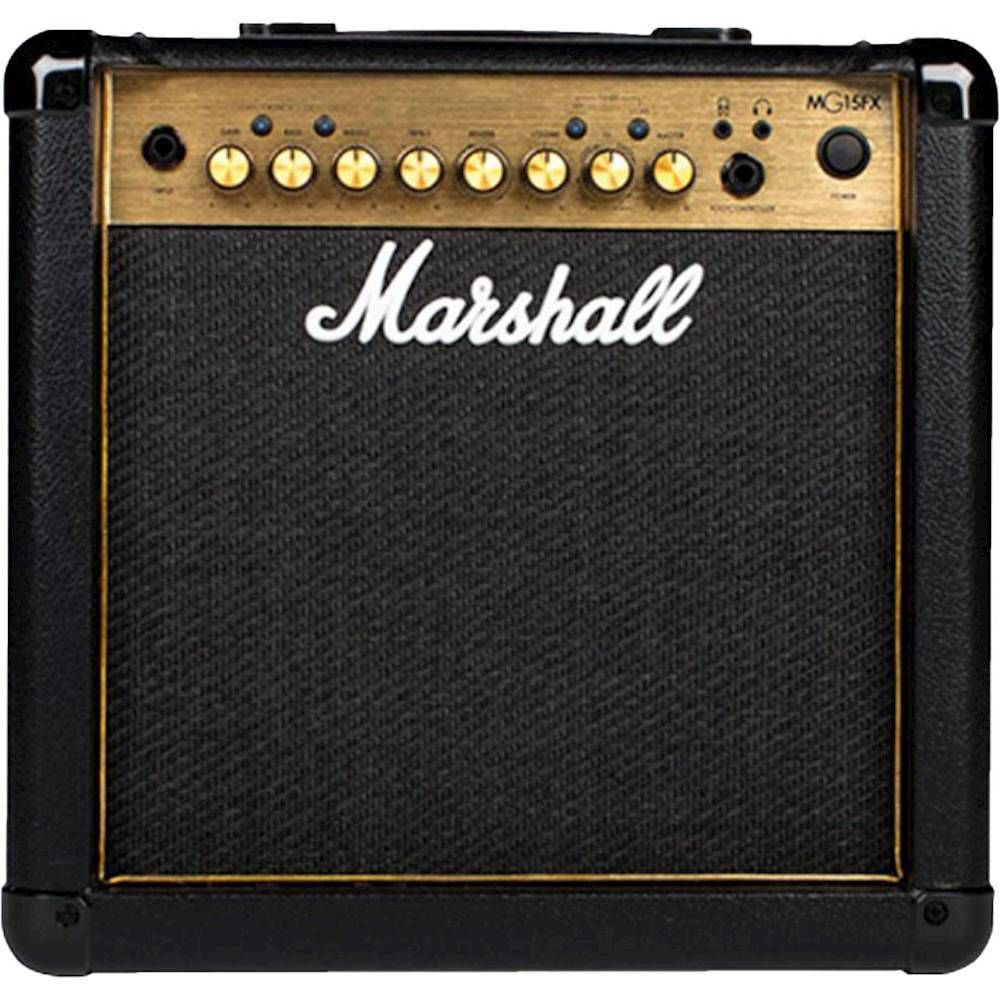 Best Buy Marshall Mg Gold Series 15w Combo Guitar Amplifier Ampmmg15gfxu Marshall Guitar Cool Things To Buy