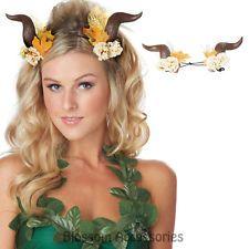 A664 Fairy Woodland Horns Crown Headpiece Elves Mythical Costume Accessory