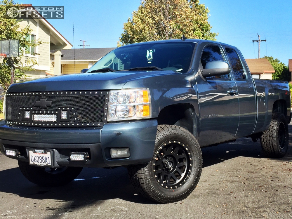 1 2008 Silverado 1500 Chevrolet Rough Country Suspension Lift 35in
