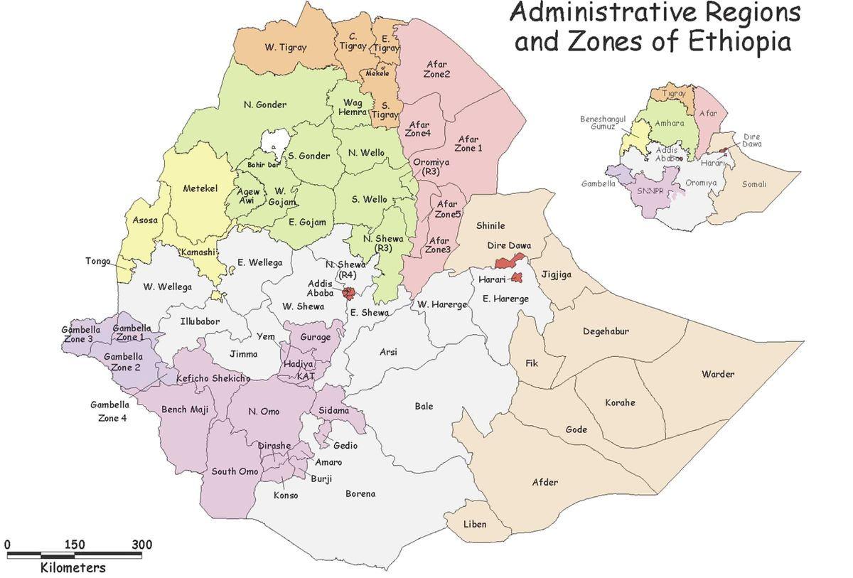 Ethiopia zone region North Omo Zone Wikipedia
